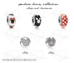 Pandora Disney Collection - clips and muranos! <3