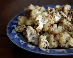Balsamic Roasted Cauliflower   Paleo Grubs