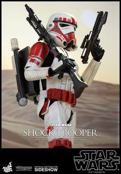 Star Wars Shock Trooper Sixth Scale Figure by Hot Toys Star Wars Games, Star Wars Toys, Star Wars Art, Gi Joe, Imperial Trooper, The Trooper, Storm Troopers, Mundo Comic, Star Wars Pictures