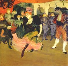 Lautrec marcelle lender doing the bolero in 'chilperic' 1895 - Henri de Toulouse-Lautrec - Wikipedia, the free encyclopedia