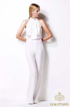 Our silk Daisy Jumpsuit (double lined), perfect for a chic dinner party #womenswear #SS13