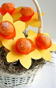 Daffodil Cake Pops..Cute!!!