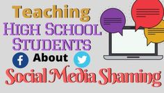 Classroom Discussion on Social Media Shaming