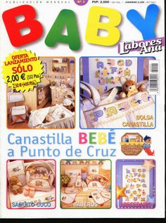 Artesanato com amor...by Lu Guimarães: Revista em Ponto Cruz Baby
