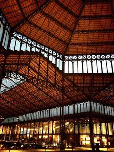 Mercado del #Born, inaugurado el 11/09/2013 como Centro Cultural http://www.viajarabarcelona.org/lugares-para-visitar-en-barcelona/iglesia-de-santa-maria-del-mar/ #Barcelona