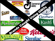 Brands Guilty of GMOs