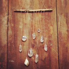 Crystal hanging | @theluxeboheme