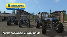 New Holland 8340 MW #FS17