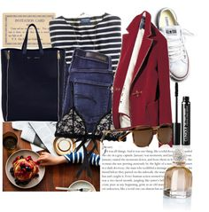"""Bon weekend!"" by parisheartschic ❤ liked on Polyvore"