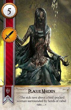 Plague Maiden (Gwent Card) - The Witcher 3: Wild Hunt