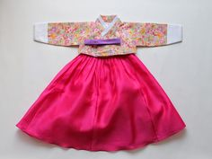 modern dol hanbok for korean dol first birthday!