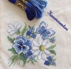 Cross Stitch Love, Cross Stitch Cards, Cross Stitch Flowers, Cross Stitch Designs, Cross Stitching, Cross Stitch Embroidery, Hand Embroidery, Cross Stitch Patterns, Embroidery Patterns Free