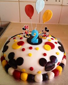 Kim made her son a birthday cake using items from the Disney Cakes and Sweets Collection. #disneycakes