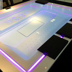 Good Badepool Zen x mit Ghost System und Beleuchtung Pr sentation Cersaie