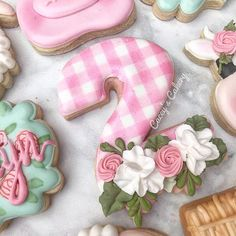 Floral Numbers 0-9 Cookie Cutter