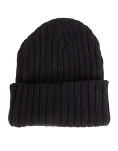 722893870a7 Ribbed Knit Beanie I Lazy days just got cuter!  2020AVE  beanie  knit   ribbed  black