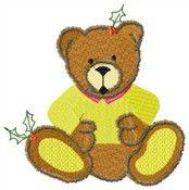Free Conway Christmas Bear Design