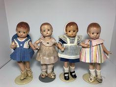 Effanbee Dolls, Vintage Dolls, Bears, Antique Dolls, Bear