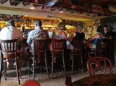 Locals at the Chart Room in Key West