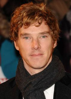 Two words: ginger sideburns. | 25 Things That Prove Benedict Cumberbatch Is The Perfect Man
