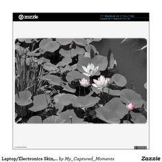 Laptop/Electronics Skin, Lotus Pond