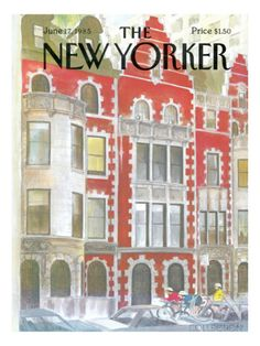 The New Yorker Cover - June 17, 1985 Poster Print by Charles Saxon at the Condé Nast Collection
