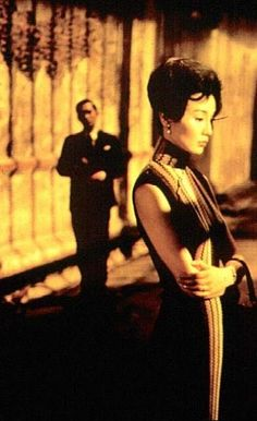 Love this kind of dress ( Maggie Cheung in In the mood for love, a great film!)