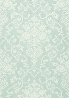 ALICIA, Aqua, T89122, Collection Damask Resource 4 from Thibaut shop.wallpaperconnection.com