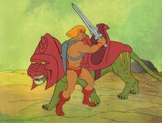 Hand Painted He-Man Animation Production Cel - Animation Cels Photo (28961257) - Fanpop fanclubs