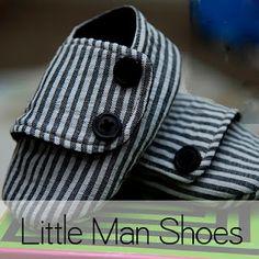 Little man shoes - svrl free pattern(s)