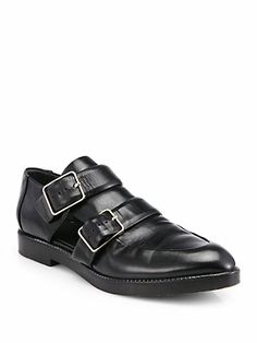 a8eb08e6bb7 Alexander Wang - Jacquetta Leather Loafers - Saks.com Leather Loafers