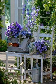 Pretty Cottage Garden! - via moois en liefs: woon inspiratie