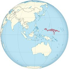 #Micronesia on the globe (Southeast Asia centered) (small islands magnified).svg