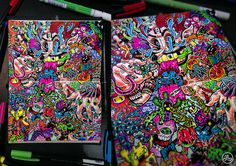 Doodle Mad Clown by lei-melendres on deviantART