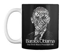 Thank You And Farewell President Barack  Black Mug Front