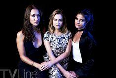 Tasya Tales, Eliza Taylor, Marie Avgeropoulos #the100 #Comic-Con