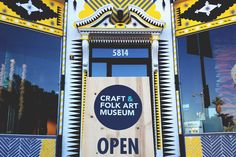 Craft & Folk Art Museum - Mid-Wilshire - Los Angeles, CA The Craft & Folk Art Museum (CAFAM) is Los Angeles' only institution exclusively dedicated to exhibiting contemporary craft, design, and folk art.   shopbanner_image1_st8.png