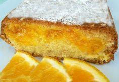 Κέικ γεμιστό με πορτοκάλι