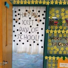 101st Day Decorations!