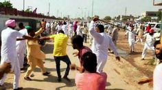 Tension in Punjab after Congress-Akali Dal clash  #Punjab #Congress #ShiromaniAkaliDal #PoliticalFight