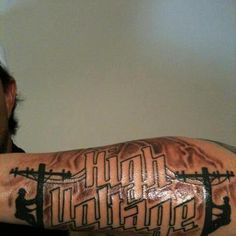 Lineman Ink, Chase would love this