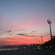 Céu de Santos! <3 (click - Camila Baroni)
