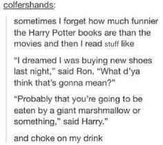You've got to love Harry Potter.