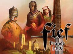 Academy Games Announces Fief - France 1429 on Kickstarter. #boardgames #kickstarter