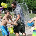 7 sugerencias para jugar con el agua y ponerse fresquitos