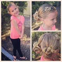 All ready for this busy Saturday full of games and classes! This is a third day hairstyle☺ and I'm loving the fun messy buns! Happy April fools day!!!  #tinzbobenz #toddlerhair #toddlerhairstyles #princesshair #hairstyle #hairideas #hairstyles #hairforgirls #hairinspiration #braidideas #braidinghair #messybun #braidingmommies #braidinspiration #instabun #instastyle #instakids #instahair #kidshair #kidstyle #kidsootd #kidsbraids #aprilfools