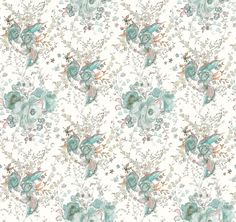Liberty fabric- I wouldn't mind this for the benches either. Pattern Paper, Fabric Patterns, Print Patterns, Papel Vintage, Vintage Paper, Liberty Fabric, Liberty Print, Background Vintage, Background Patterns