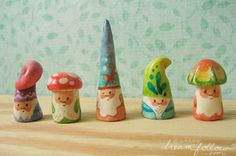 FIMO wow they're so cute!