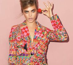 Cara Delevingne Shines in This UK Vogue September Campaign trendhunter.com