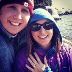 Congratulations Ross & Callie!!! They got engaged at Lutsen this past winter! <3 Click to see the ring!